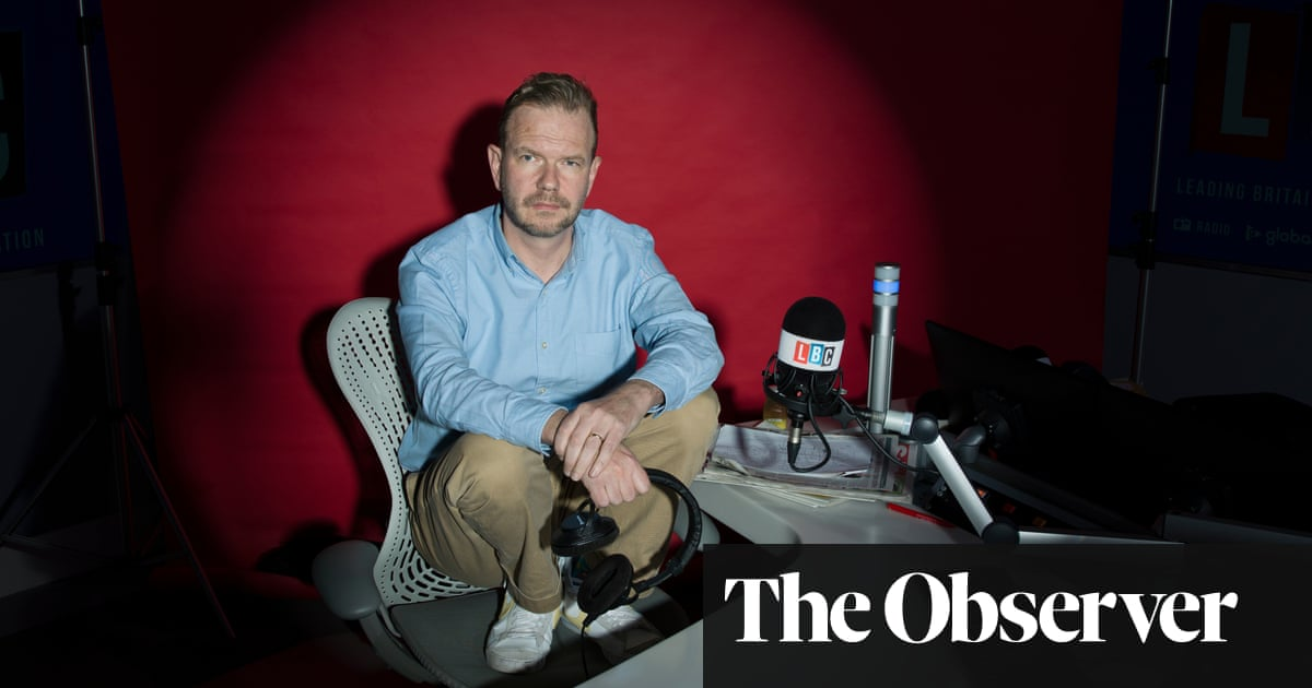 James O'Brien: 'I saw everything as a fight'