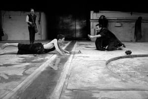 Electra, 1988Fiona Shaw in Sophocles' play, directed by Deborah Warner and designed by Hildegard Bechtler, at Barbican Centre, London