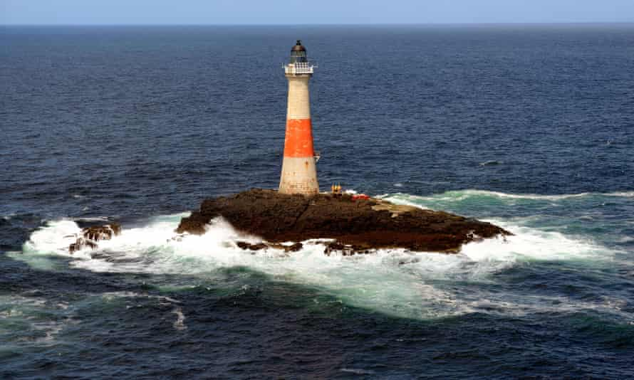 Dubh Artach Lighthouse (west of Colonsay and SW of Mull)