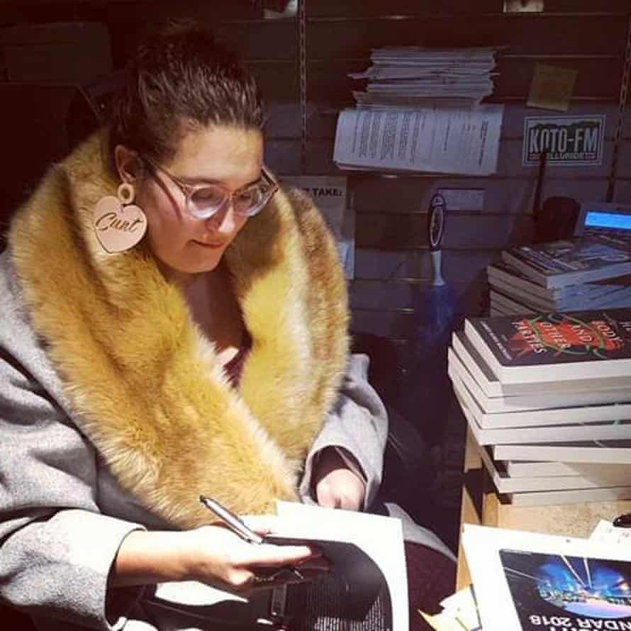 'I love bold jewellery' … Carmen Maria Machado