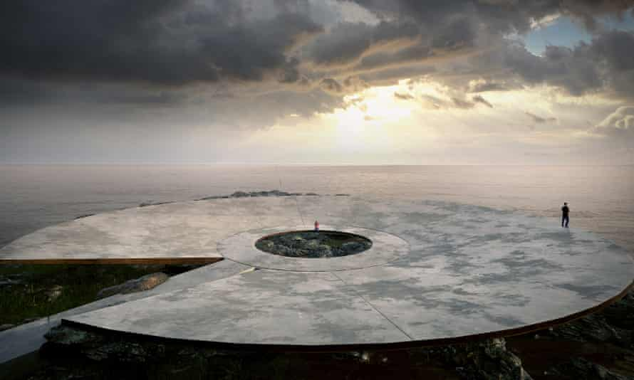 Artist's impression for World Memorial to the Pandemic in Montevideo, Uruguay.