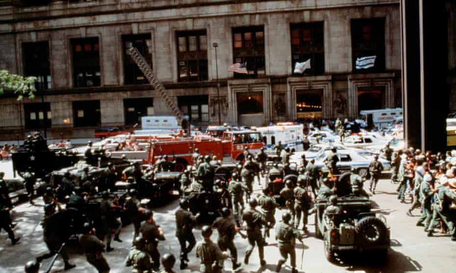 Military on the streets of Chicago in The Blues Brothers