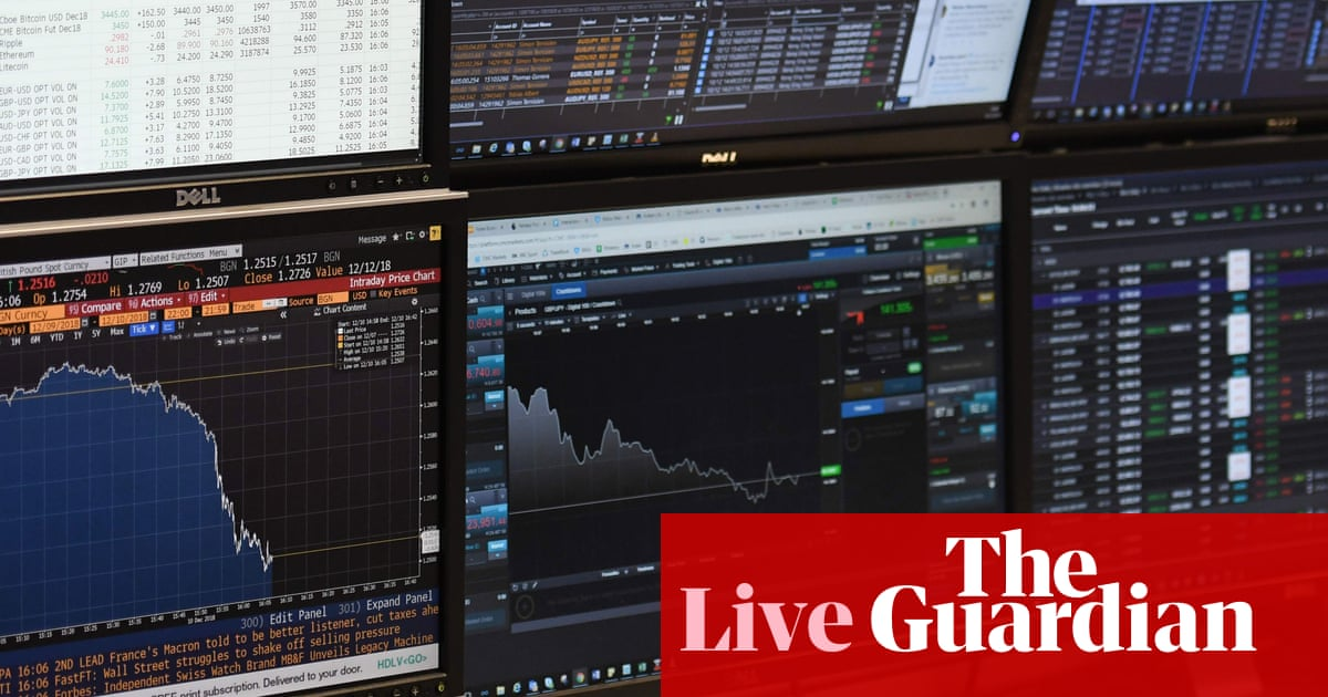 Pound hits 27-month low as no-deal Brexit fears grow - as it