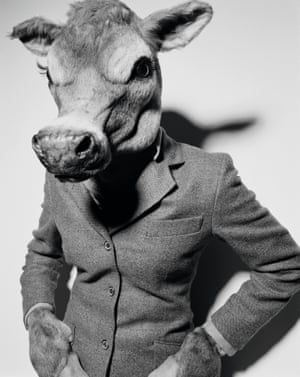 'I can't remember who made the jacket – probably someone really important' … Livestock 2001 by Rankin (stylist Miranda Almond).