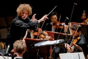 Santtu-Matias Rouvali conducts the Philharmonia Orchestra.