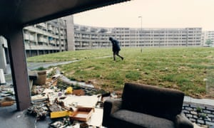 The Hulme estate in Moss Side.