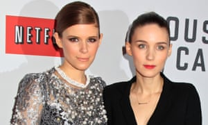 Sister act: Kate, left, with her sister and fellow actor, Rooney.