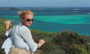 Kitiara Pascoe during her two-year trip.