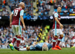 Manchester City's Samir Nasri reacts after being denied by Byram.