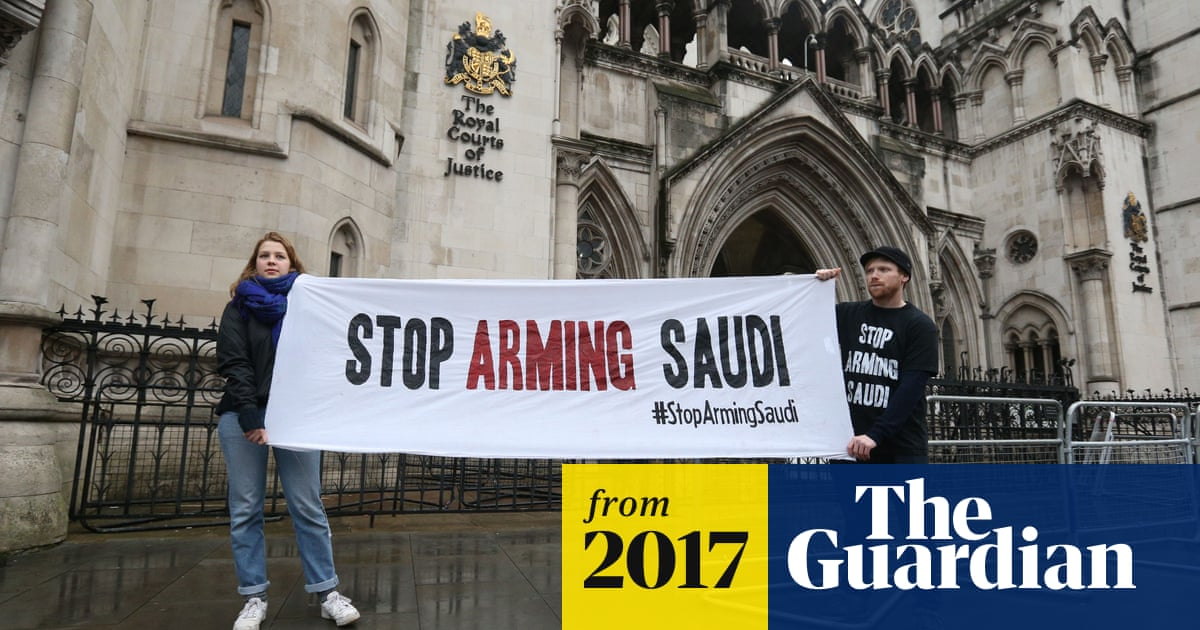 UK arms exports to Saudi Arabia can continue, high court