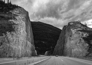 Cutting Through the Rockies, Trans-Canada Highway, Golden, Canada, by Ben Craven