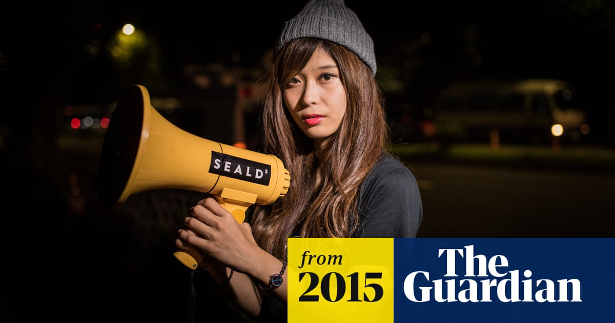 New generation of Japanese anti-war protesters challenge Abe