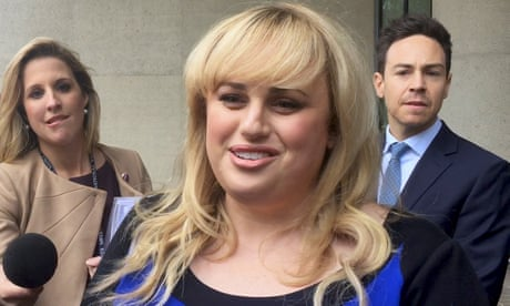'Case about fighting a bully, not money,' says Rebel Wilson – video