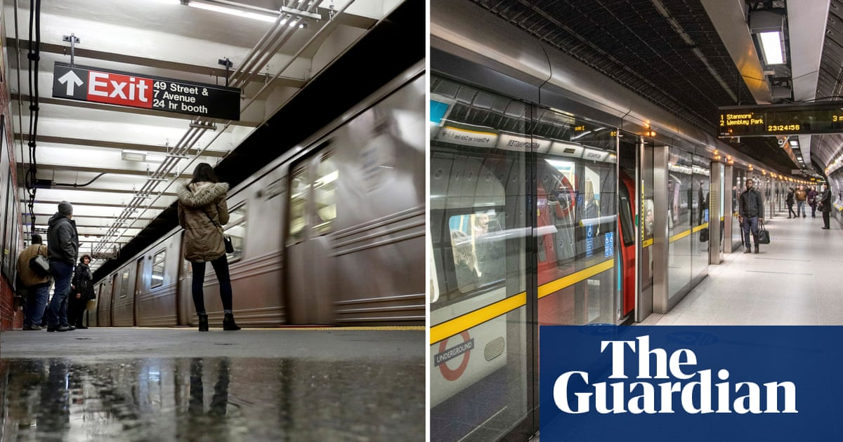 A tale of two metros: how the London tube beat the New York subway