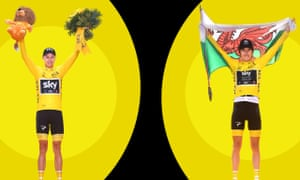 Chris Froome and Geraint Thomas as Tour de France winners