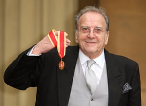 Harwood was knighted in 2011.