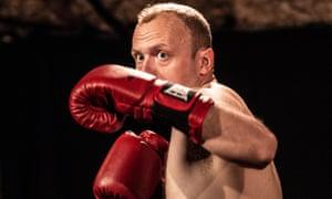 Heavyweight performer … James McNicholas.
