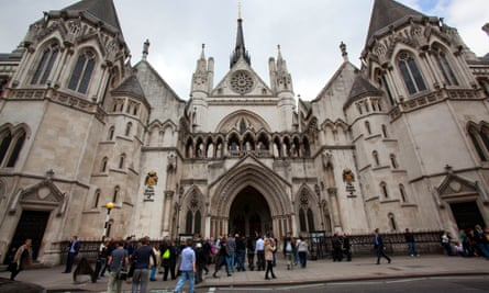 The Ministry of Justice said it would appeal against the decision by the high court, pictured.