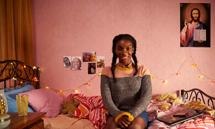 'Colourful life': Michaela Coel in the second series of Chewing Gum.