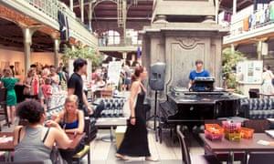 Brussels Vintage Market, Halles Saint-Géry, Belgium
