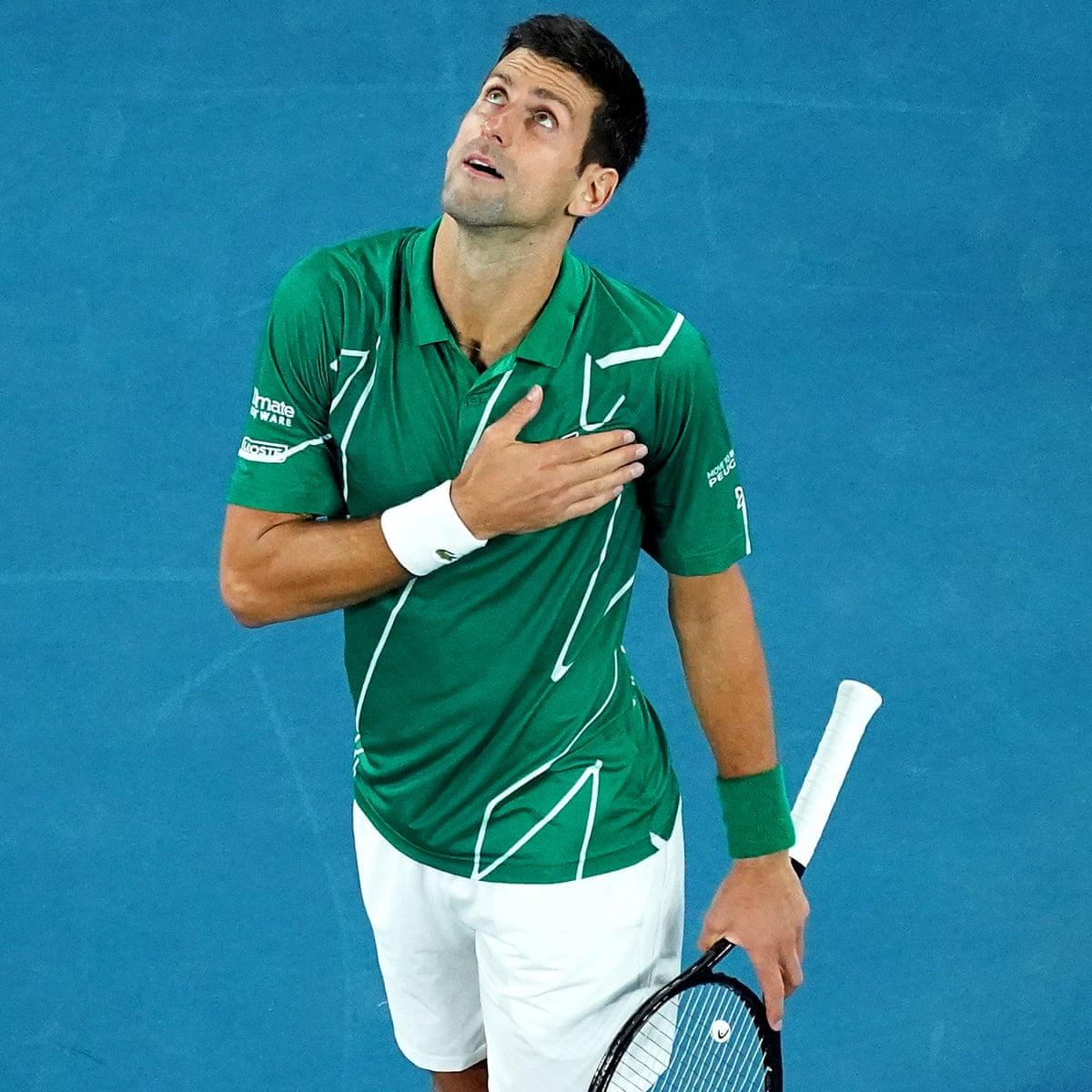 Australian Open 2020 Djokovic Beats Raonic In Straight Sets As It Happened Sport The Guardian