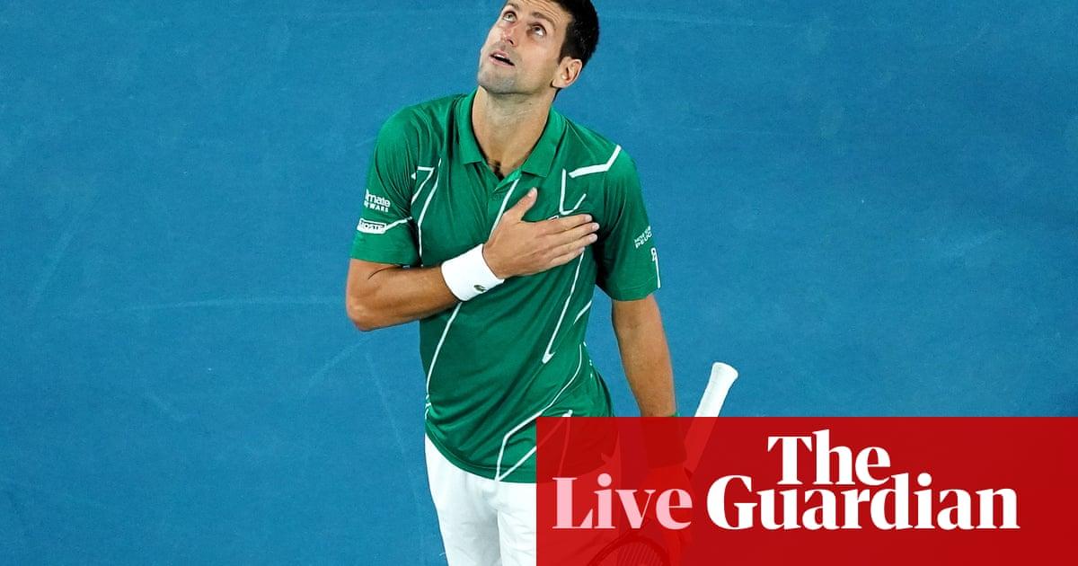 Australian Open 2020: Djokovic beats Raonic in straight sets – live!