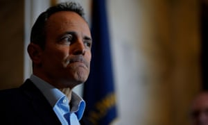 Kentucky's former governor Matt Bevin called the suggestion that he had been motivated by financial interest 'highly offensive and entirely false'.