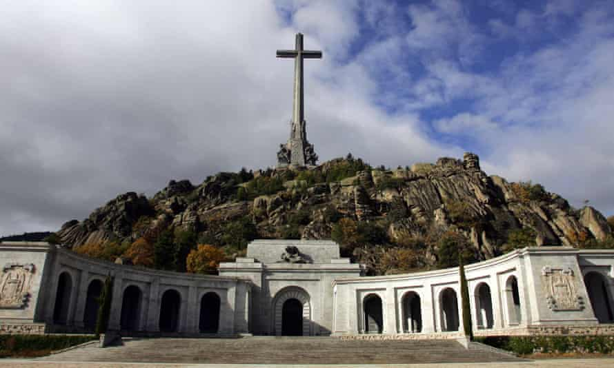 The Valley of the Fallen monument to Francoist combatants killed in the Spanish civil war.
