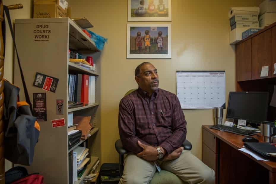 Chris Brown, the Washington County Drug Court Coordinator