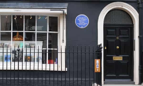 Heywood Hill bookshop in Mayfair, London.