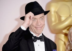 Actor JK Simmons and his hat