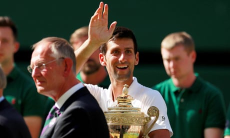 Novak Djokovic's son inspires revival at Wimbledon after wilderness years | Sean Ingle