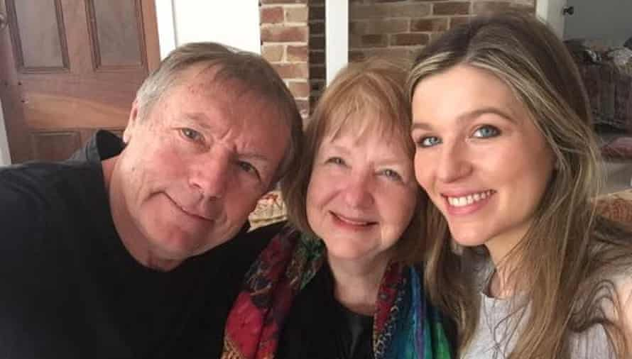 The couple with daughter Lucy Carpenter