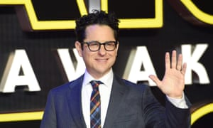 JJ Abrams at the European premiere of Star Wars: The Force Awakens.