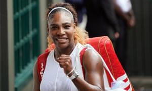 Serena Williams will face Simona Halep in the Wimbledon singles final.