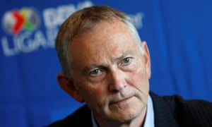 Richard Scudamore is stepping down as executive chairman of the Premier League after 20 years in charge