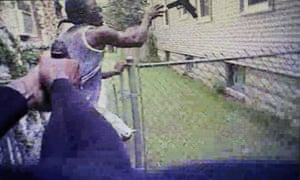 Body-camera video showed Heaggan-Brown shooting Smith once in the arm as he appeared to be throwing the gun over a fence.