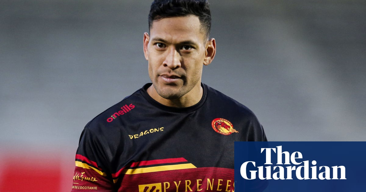 Israel Folau to return with Gold Coast amateur team after securing Catalans release