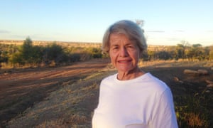 Penny Button, the owner of Crossmoor cattle property near Longreach, Queensland. For the first time in more than a century on the land, the family will fully 'destock' this week.