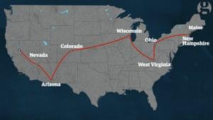 How far we traveled