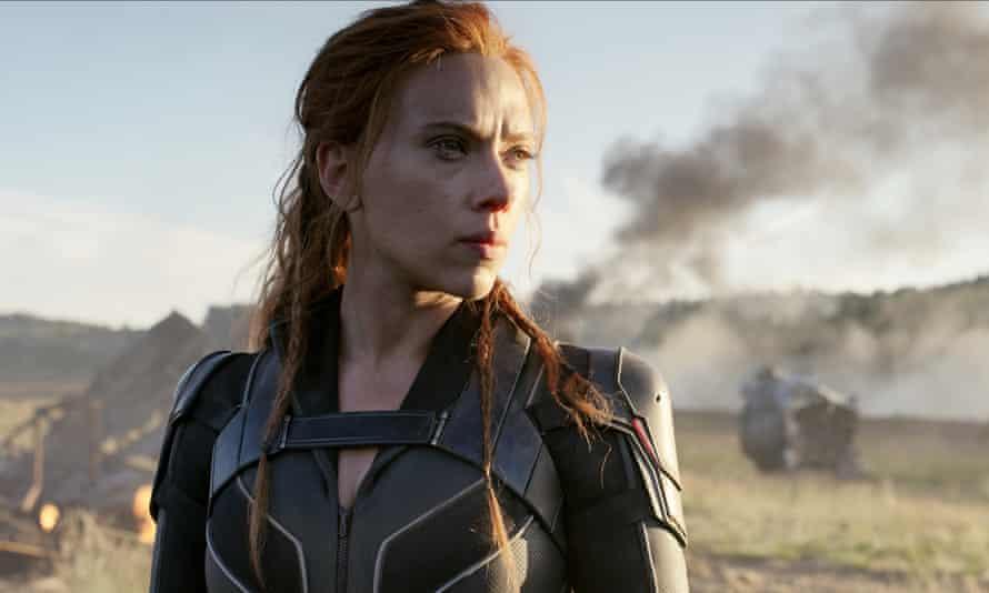 'I bet I'd look lovely with her hair' … Scarlett Johansson as Natasha Romanoff in Black Widow.