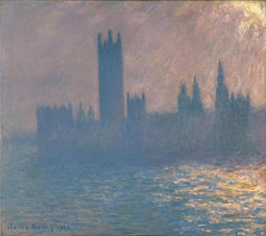 Houses of Parliament by Claude Monet, 1903.