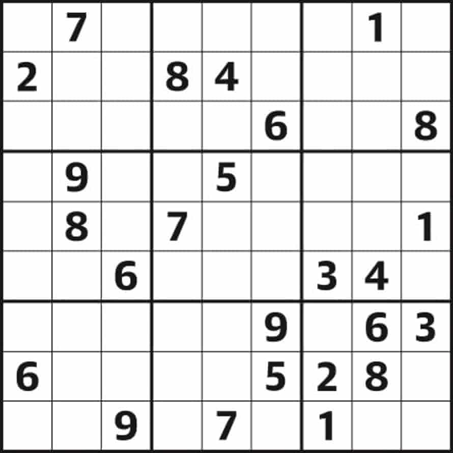 Sudoku 5,140 medium