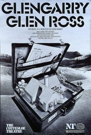 Glengarry Glen Ross at the Cottesloe in 1983.
