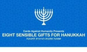 Cards Against Humanity's hanukkah sale