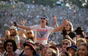 Fans roar their approval for Sydney band DMA's