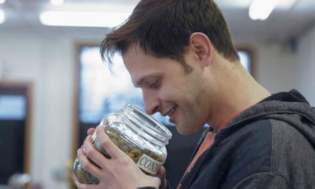 Best buds: the Cabbanist's marijuana critic Jake Browne in Rolling Papers.