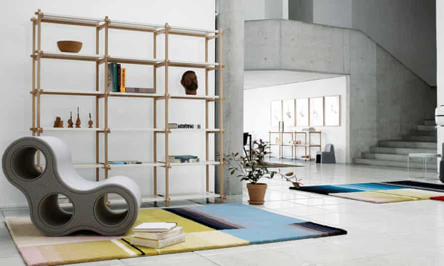Neat beat: sort it all out with the Woody shelving system from Hay