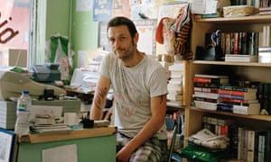 Bookseller Simon Key.