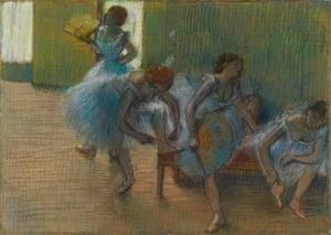 Degas' ballerinas